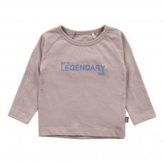 T-Shirt Coton Bio Legendary  Gris