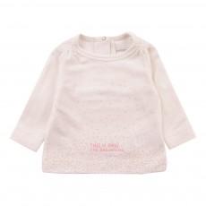 T-Shirt Coton BioThe Beginning Ecru