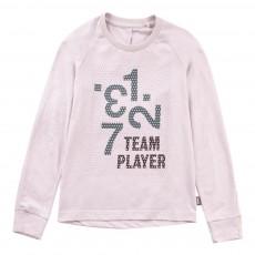 T-Shirt Coton Bio Team Player Rose