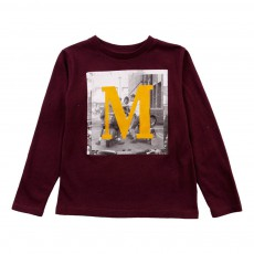 "T-Shirt ""M"" Momi Bordeaux"