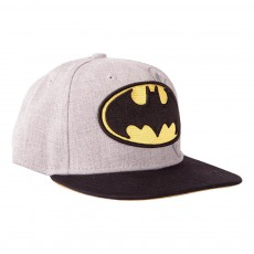 Casquette Heather Face Batman Gris