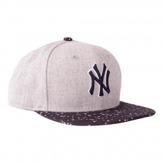 Casquette Heather Speckle NY Gris