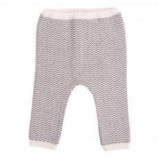 Pantalon Chevrons Gris charbon
