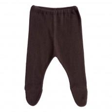 Pantalon Pieds Gris charbon