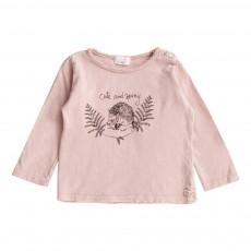 T-Shirt Herisson Samy Rose pâle