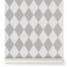 Papier peint Harlequin - Gris