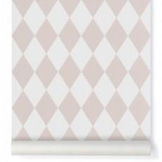 Papier peint Harlequin - Rose