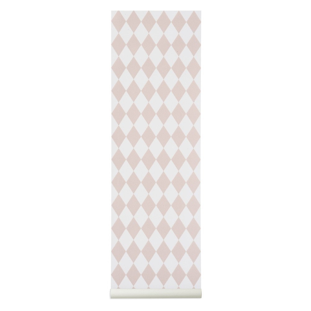 Papier peint harlequin rose ferm living d coration smallable - Ferm living papier peint ...