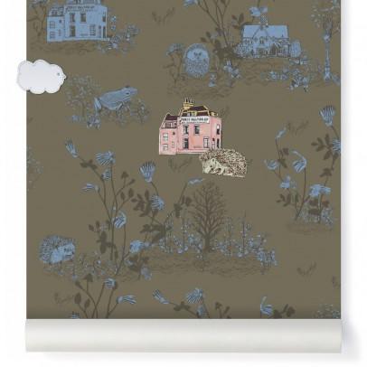 papier peint magn tique woodland et aimants vert kaki sian zeng d coration smallable. Black Bedroom Furniture Sets. Home Design Ideas