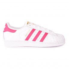Baskets Lacets Superstar Fondation Rose
