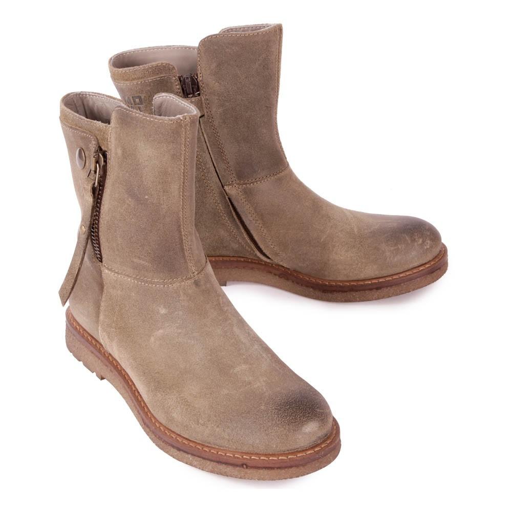 boots cuir zipp es florida beige momino chaussures enfant smallable. Black Bedroom Furniture Sets. Home Design Ideas