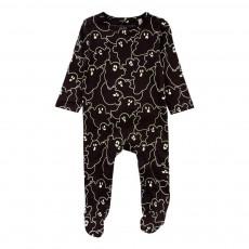 Pyjama Phosphorescent Fantômes Twiddle Noir