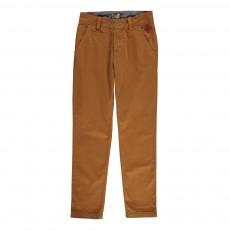 Pantalon Chino Twill Marron