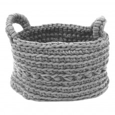 Panier crochet Gris clair