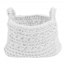Panier crochet Blanc