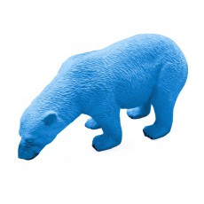 Gomme Ours polaire Bleu