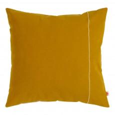 Coussin déhoussable or 50x50 cm Jaune moutarde
