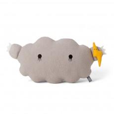 Doudou - coussin nuage 24x43 cm Gris