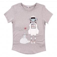 T-Shirt Miss Marc Espace Gris chiné
