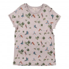 T-Shirt Tropical Peanut Gris chiné