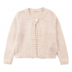 Cardigan Court Lurex Ecru