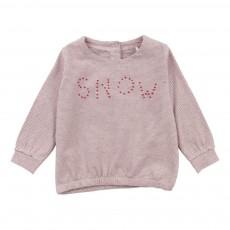 T-Shirt Coton Bio Snow Rose