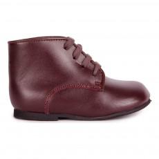 Boots Cuir Bertie Marron