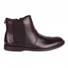 Boots Cuir Jodphur Noir