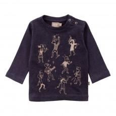 T-shirt Lucy Coton Bio Bleu marine