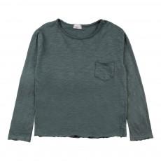 T-Shirt Poche Andy Vert