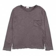 T-Shirt Poche Andy Gris foncé