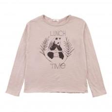 T-Shirt Panda Samy Rose