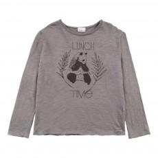T-Shirt Panda Samy Gris foncé