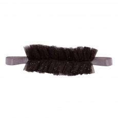 Headband Tulle Noir
