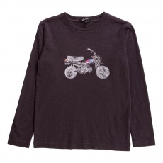 T-Shirt Moto Denis Gris anthracite