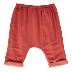 Pantalon Basilic Bébé Rouge brique