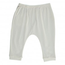 Pantalon Jersey Cannelle Ecru