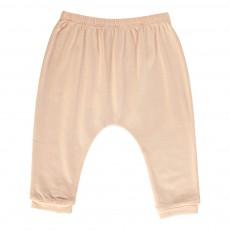 Pantalon Jersey Cannelle Rose poudré
