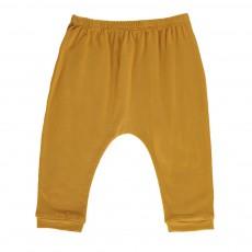 Pantalon Jersey Cannelle Caramel