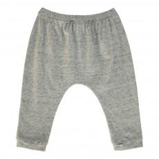 Pantalon Jersey Cannelle Gris chiné