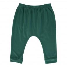 Pantalon Jersey Cannelle Vert sapin