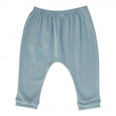 Pantalon Jersey Cannelle Bleu gris