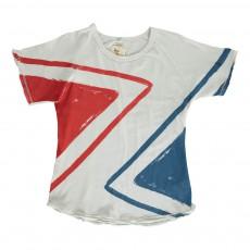 T-shirt Arrows MC Blanc