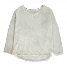 T-shirt Marbré Juniper ML Blanc cassé