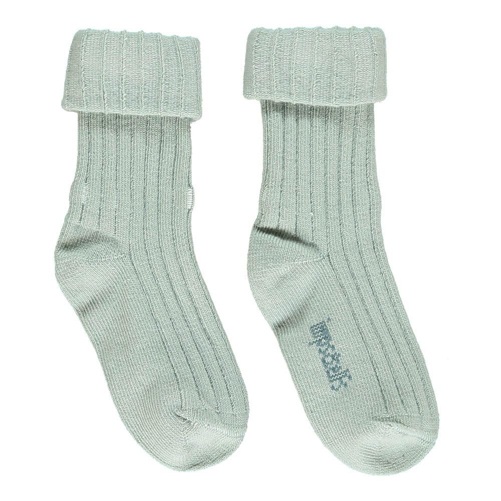 chaussettes coton bio vert d 39 eau imps elfs mode enfant smallable. Black Bedroom Furniture Sets. Home Design Ideas