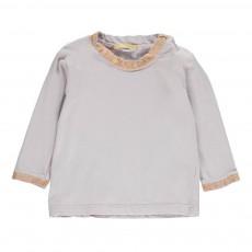 T-Shirt Paillettes Toto Gris clair