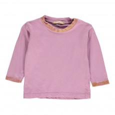 T-Shirt Paillettes Toto Rose