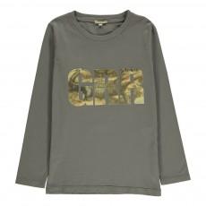 T-Shirt GRR Crocodile Toto Gris foncé
