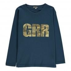 T-Shirt GRR Crocodile Toto Bleu nuit