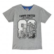 T-Shirt Los Angeles 83 Gris chiné